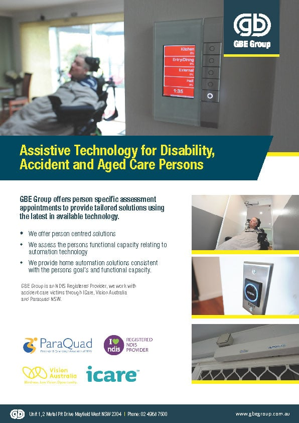 Assistive Technology for Disability & Accident and Aged Care Persons