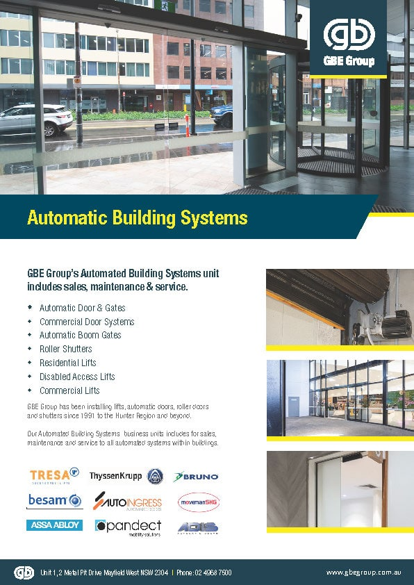 Automatic Building Systems