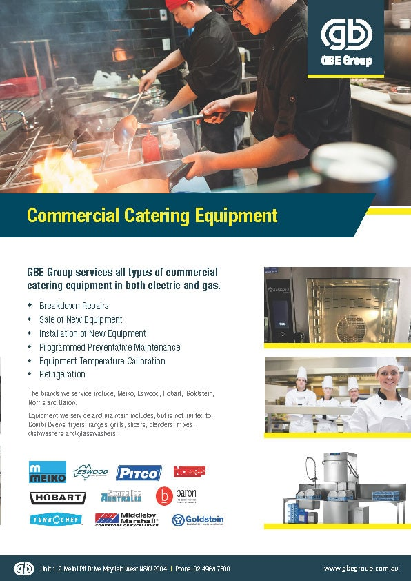 GBE Commercial Catering Equipment