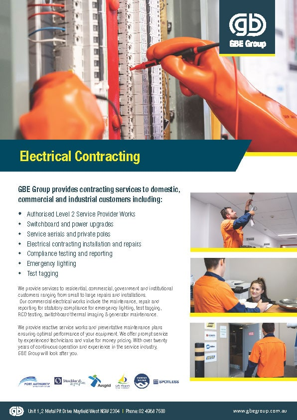 GBE Group Electrical Contracting