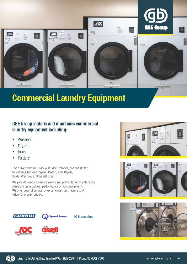 GBE Commercial Laundry Equipment