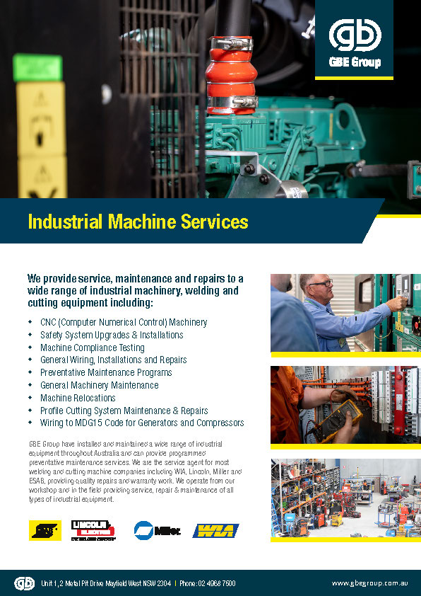 GBE Industrial Machine Services